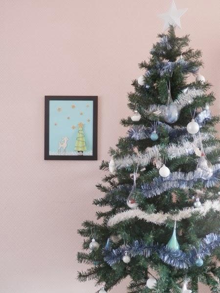 Decoration Noel Rideau Interiueur Paiement Differe