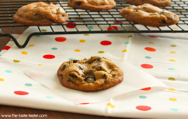 Brown Butter Chocolate Chip Cookies www.the-taste-tester.com #cookie #recipe