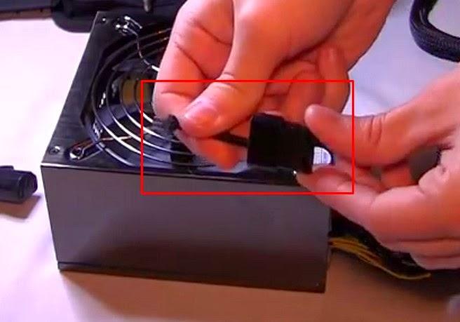 kabel connector untuk PSU