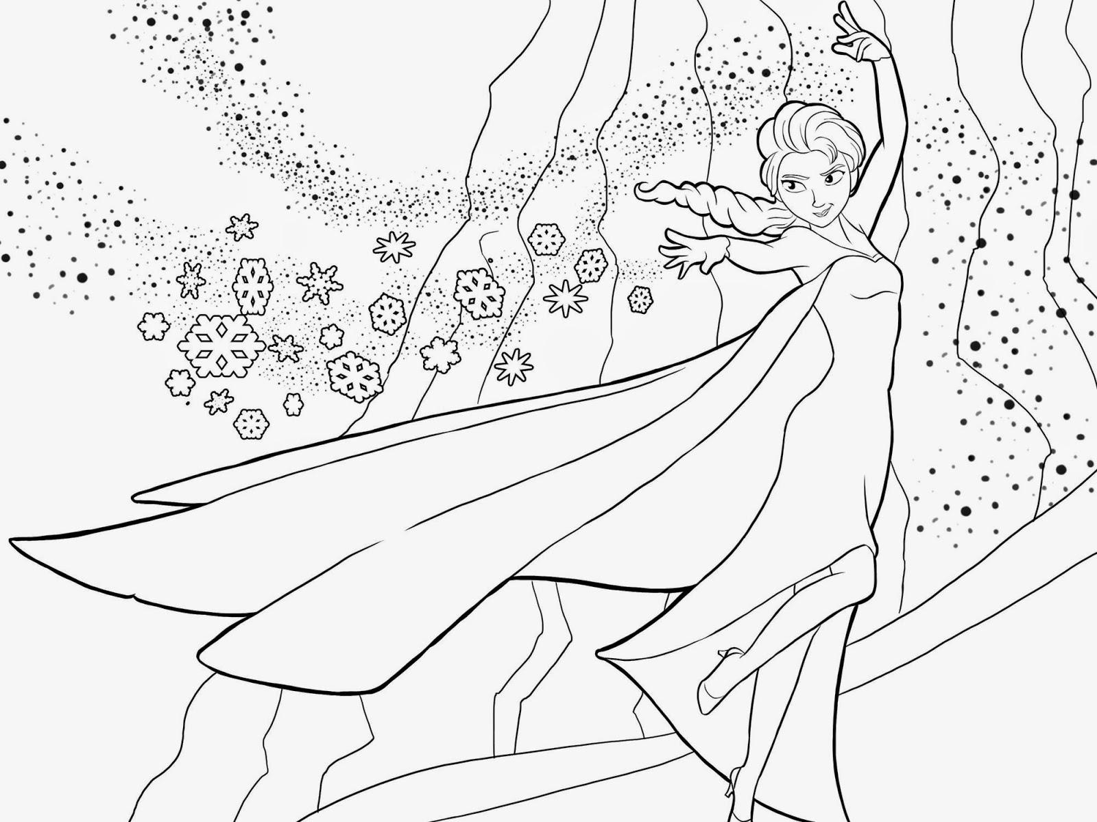imagens para colorir frozen - Desenhos de Frozen para Colorir Colorir