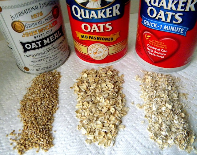 What Is Dofference Between  Minute And Old Fashioned Oats