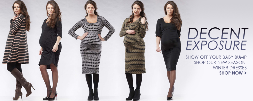 Soon Maternity Style Blog: Winter Maternity Dresses