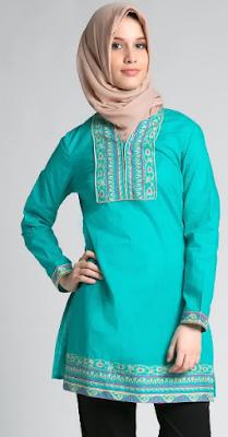 Baju Muslim Atasan Trendy dan Modis
