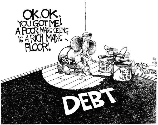 NAKED KEYNESIANISM: The debt ceiling limit: Dean Baker vs
