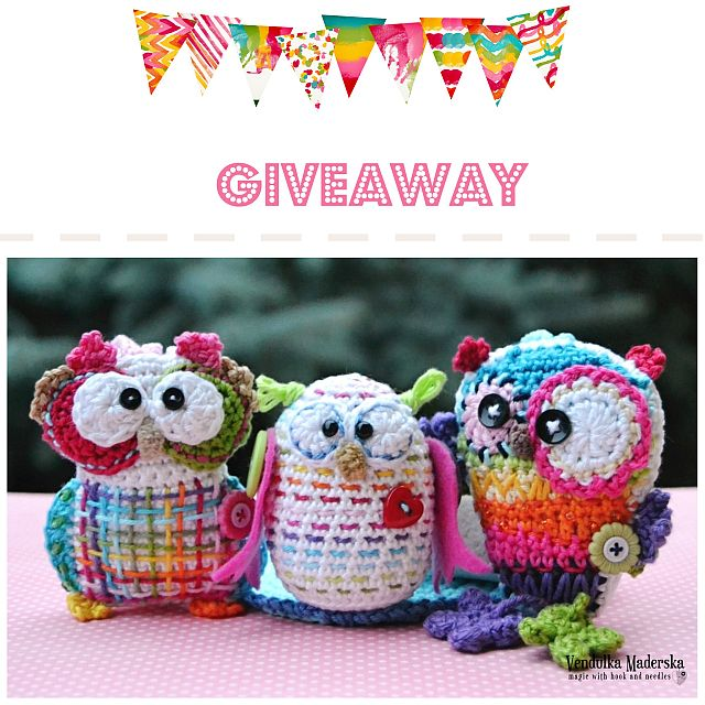 VendulkaM Owl Giveaway