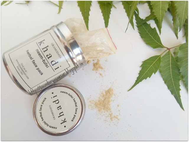 Khadi Neem Tulsi Herbal Face Pack Review