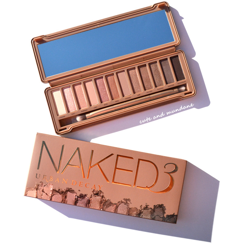 Cute and Mundane: Urban Decay Naked Palette, revisited
