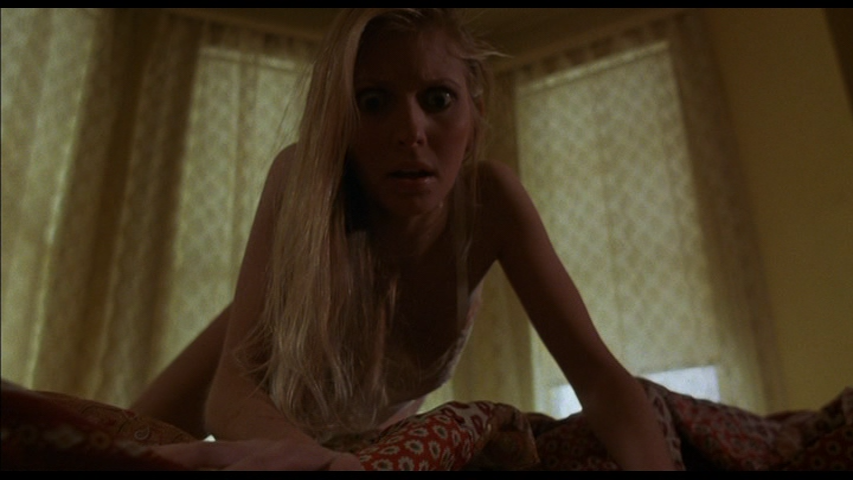 Carol Levy thinks there is someone under the bed in Alone In The Dark (1982)
