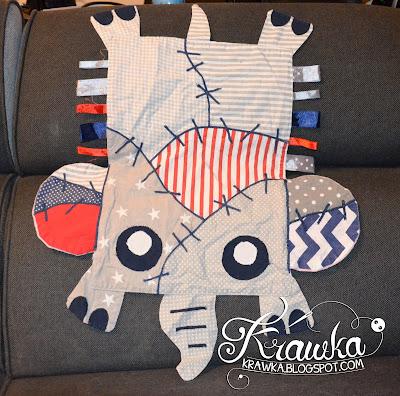 Krawka: Frankenstein's monster elephant baby lovey