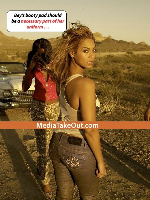 does-beyonce-wear-butt-pads