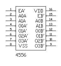 multiplexer with cmos ic 4556 diagram wiring rh nicadiagram blogspot com IC 7401 IC 7401
