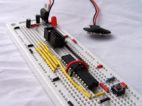 Breadboard image from Atmeg8