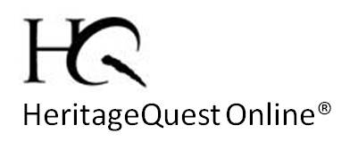 Heritage Quest Online - In llibrary only