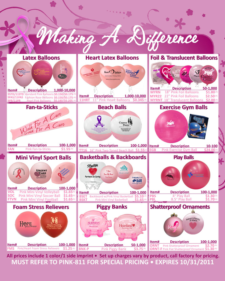 Brand Creative Think Pink Lots Of Ideas For Breast