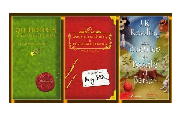 Libros de texto Harry Potter