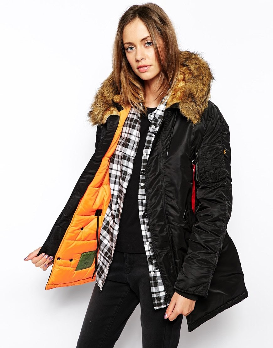alpha industries parka coat