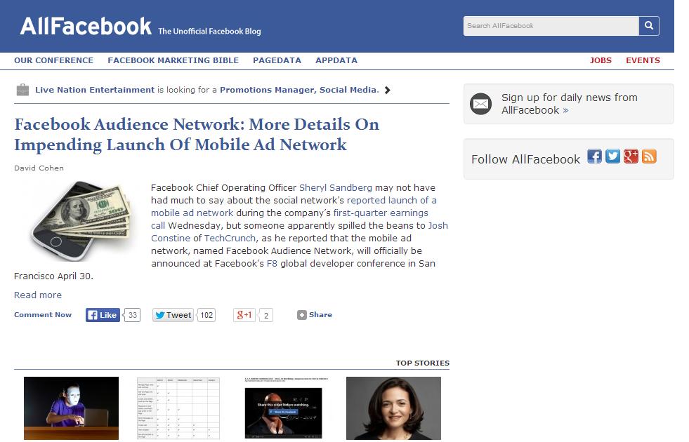 Allfacebook - The Unofficial facebook blog