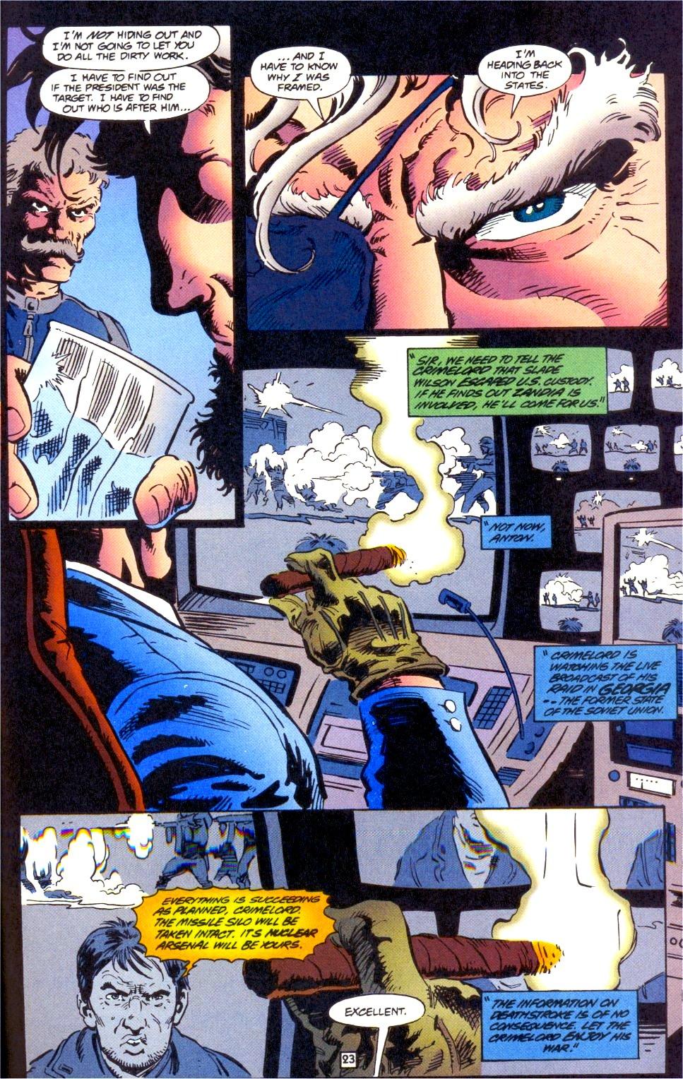 Deathstroke (1991) Issue #0 #5 - English 24