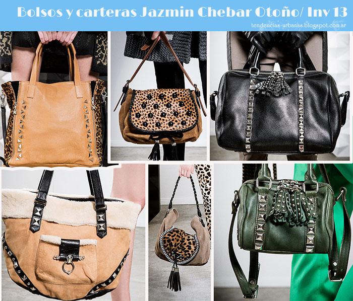 Jazmin Chebar bolsos y carteras invierno 2013
