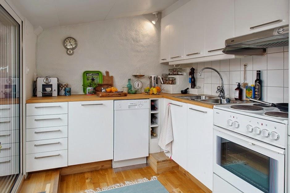 Decoraci n de una casa de 50 metros for Cocina 6 metros cuadrados