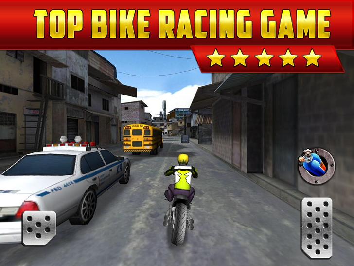 3D Motor-Bike Drag Race - Real Driving Simulator Racing Game App iTunes App By Cool Fun Racing Games - FreeApps.ws
