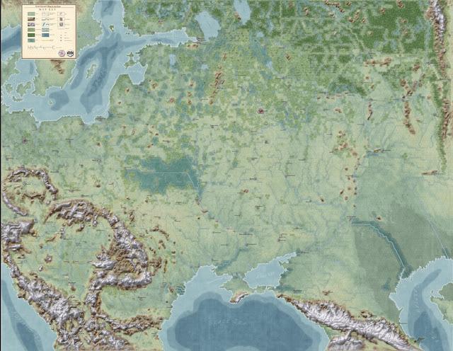 ►War in the East: The German-Soviet War 1941-1945 Mapa+global