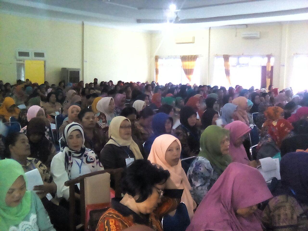 Guru SD Langkat Ikuti Seminar Nasional Pendidikan