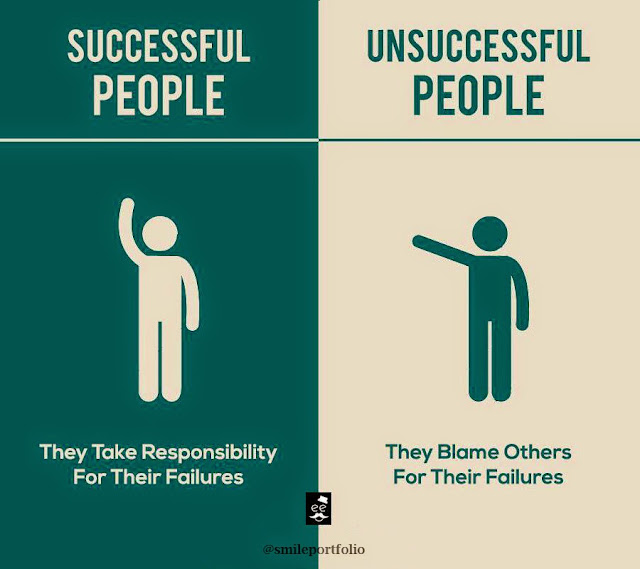 Successful People, Unsuccessful People, life lessons, responsible