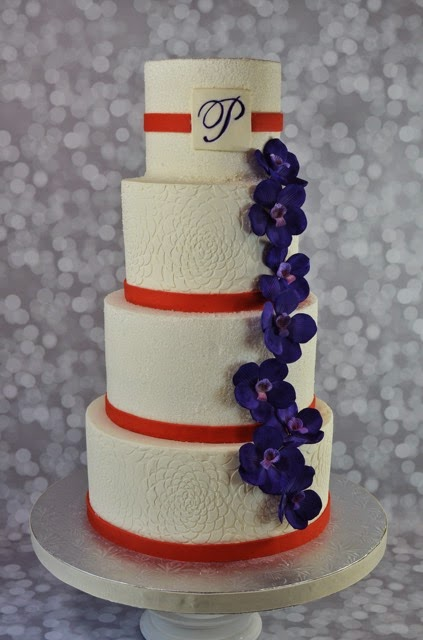 I Hate Purple Well At Least Wedding Cakes Its So Hard To Match With Some Purples Having Lots Of Blue And Shades Red