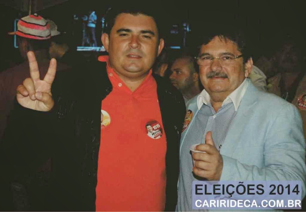 Prefeito Célio Barbosa segui firme com Adriano Galdino, Emanuel Júnior e Ricardo Coutinho