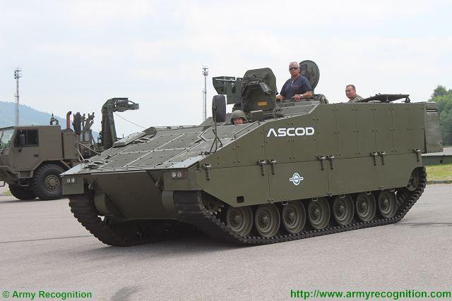 GDELS menawarkan Kendaraan Canggih ASCOD Untuk Angkatan Darat Kolombia