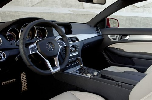 2012 Mercedes C-Class Coupé Interior