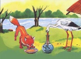 La volpe e la cicogna (Fedro)