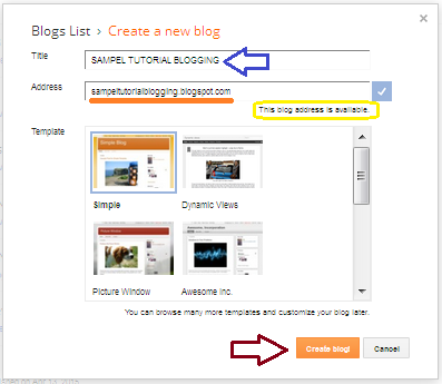 Membuat Blog Dalam 5 Menit, Terbukti