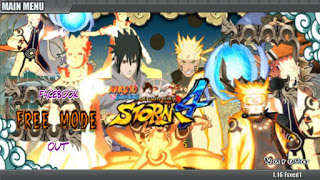 Naruto Senki Ultimate Ninja Storm 4 v2 Apk By Cevrin Dio