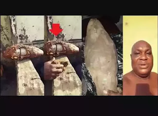 Nigerian Man Discovers Drugs Hidden Inside The Tuber Of Yam He Was Given To Deliver Abroad.
