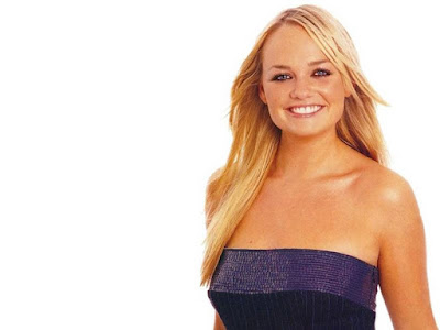 English Pop Singer Emma Bunton Wallpaper