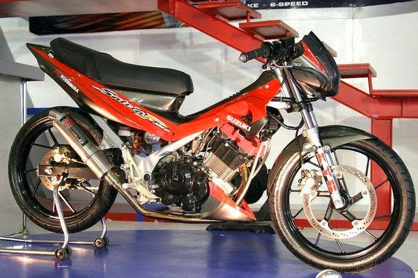 Modifikasi Suzuki Satria FU 150 Terbaru