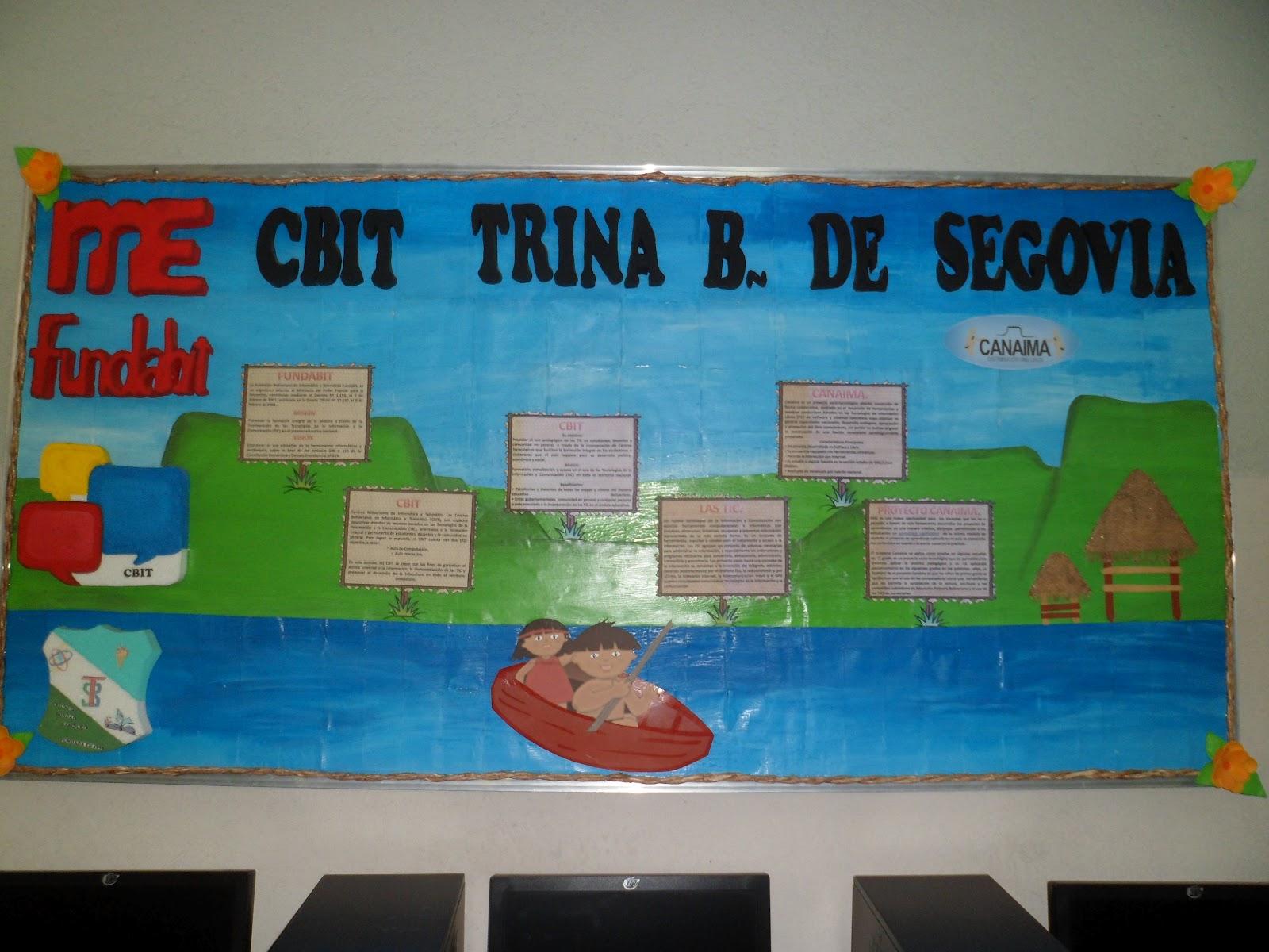 "CBIT ""TRINA BRICEÑO DE SEGOVIA"": Fototeca."