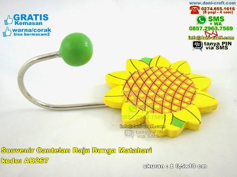 Souvenir Cantelan Baju Bunga Matahari
