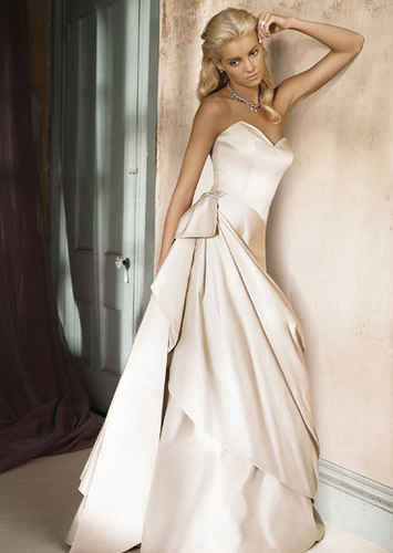 All about the wedding celebration simple elegant wedding for Simple elegant short wedding dresses