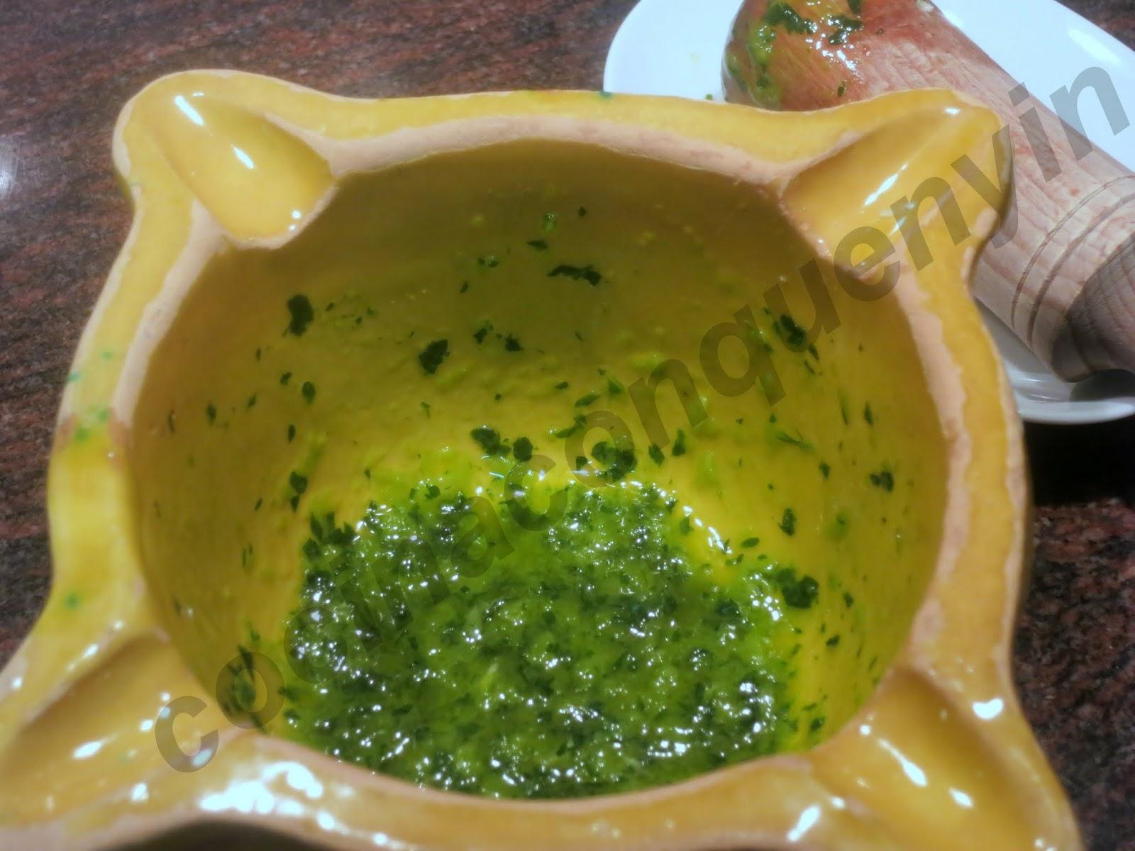 Cocina con quenyin lubina a la plancha con salsa de ajo for Como cocinar salmon plancha