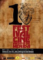 X Festival de Cine Inedito de Merida: Programacion