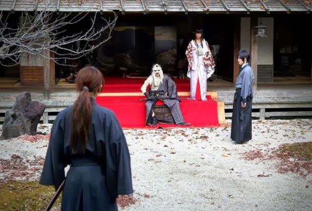 Rurouni Kenshin live action peliculas 2014 Shishio