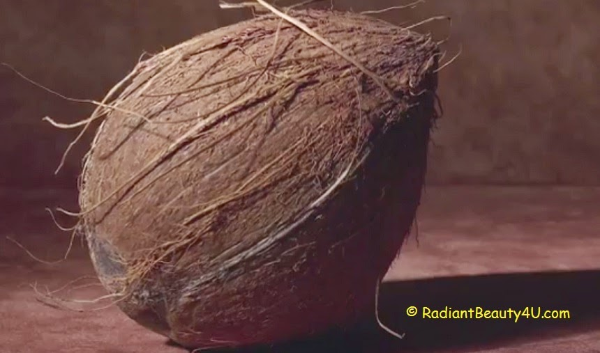 fresh coconut, coconut for skin, coconut oil dandruff treatment