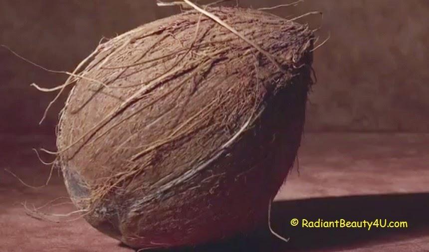 fresh coconut, coconut for skin, coconut oil dandruff treatment