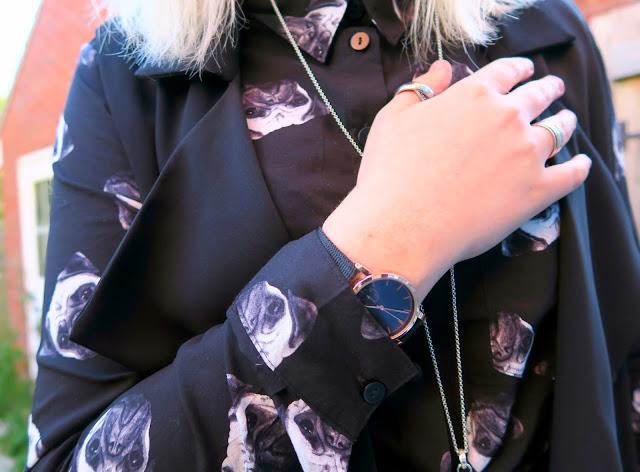 #OOTD : Pug Shirt & Topshop Sleeveless Jacket