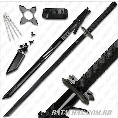 Armas usadas pelos Ninjas japoneses