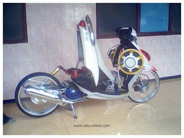 Gallery Foto Modifikasi Motor Yamaha Mio Automatic