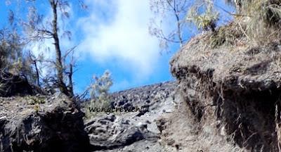 lokasi ditemukannya pendaki hilang di gunung semeru